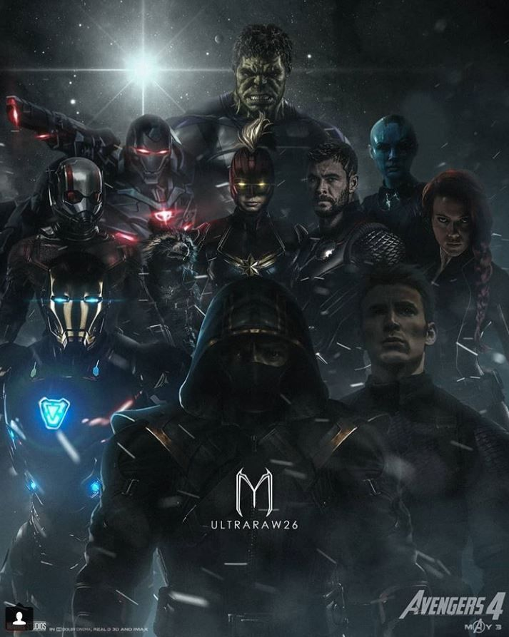 25 Fantastic Avengers Endgame Fanmade Posters That Will Blow Your