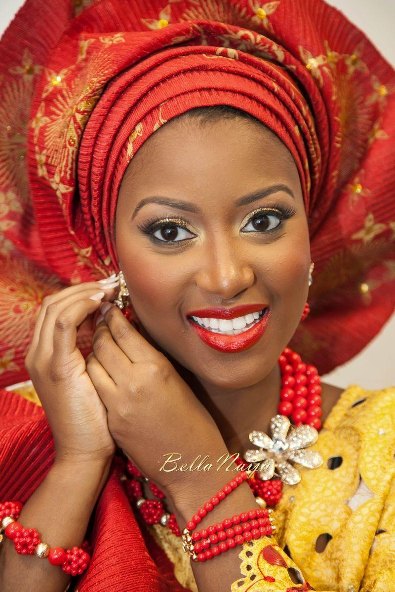 Antonia u stanley yoruba u igbo nigerian wedding bellanaija