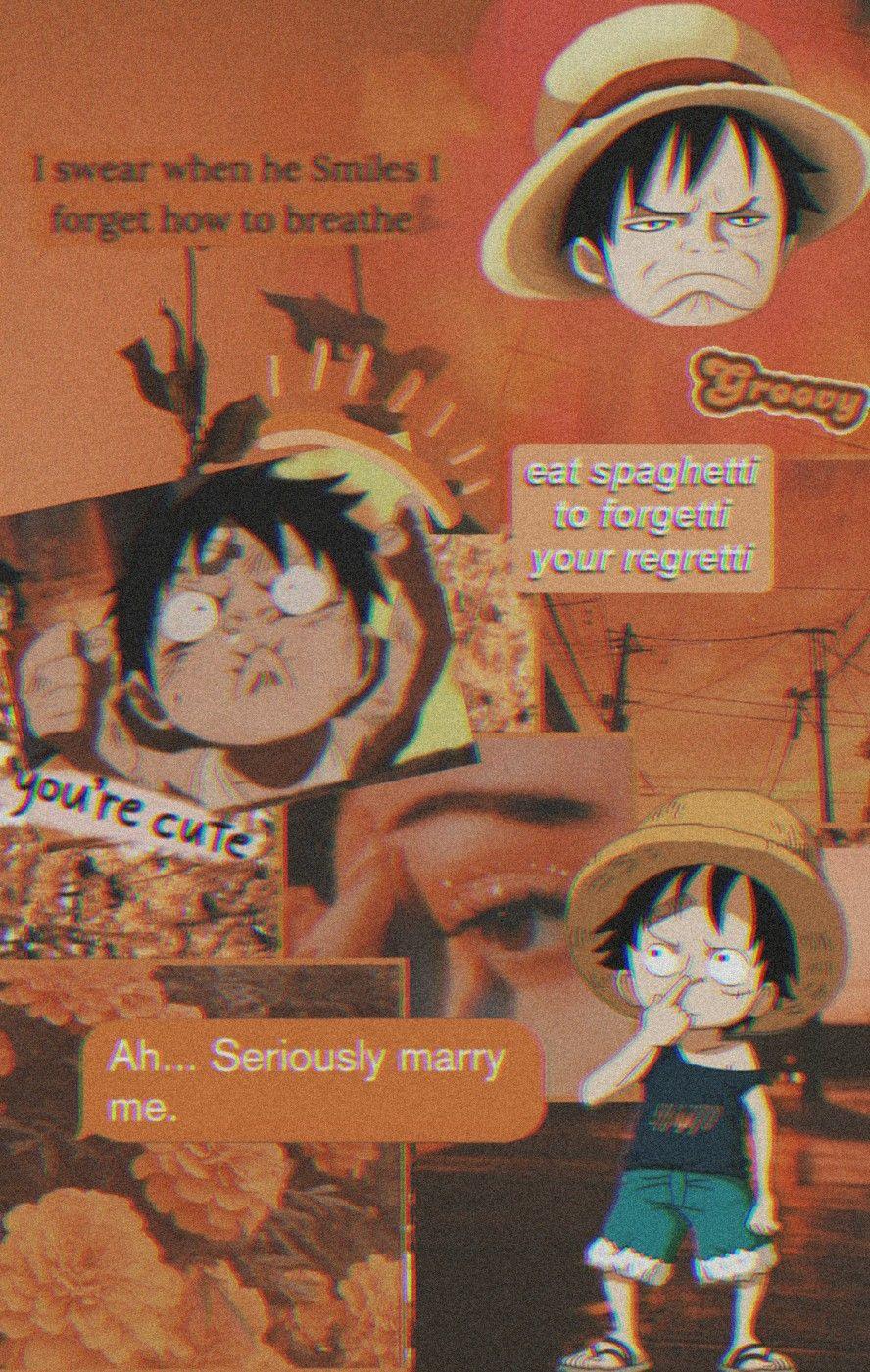 Monkey D Luffy Aesthetic Wallpaper In 2020 Manga Anime One Piece Cute Anime Wallpaper One Piece Anime
