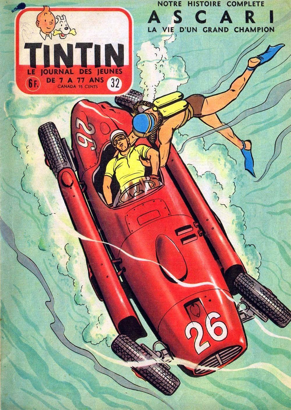 Revista tintin lancia d50 de alberto ascari tras el accidente revista tintin lancia d50 de alberto ascari tras el accidente del gp de mnaco de vanachro Gallery