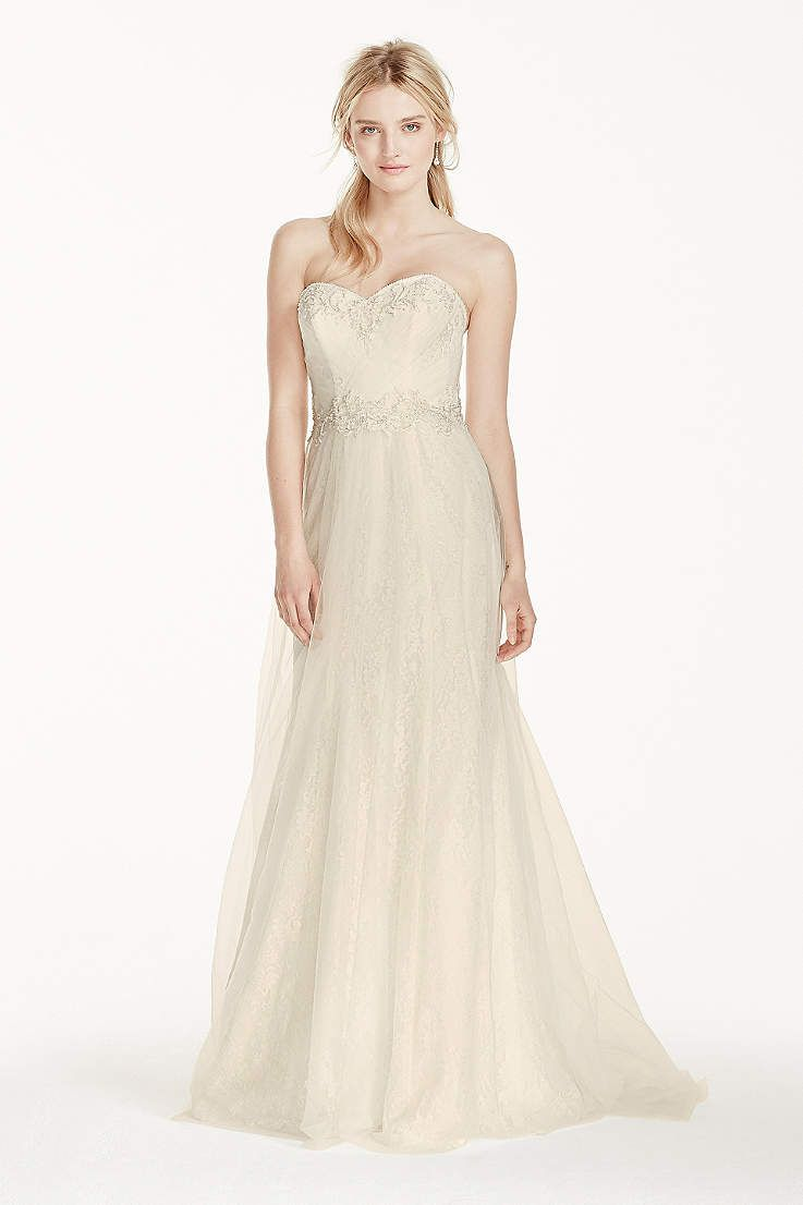View strapless long wedding dress at davidus bridal wedding