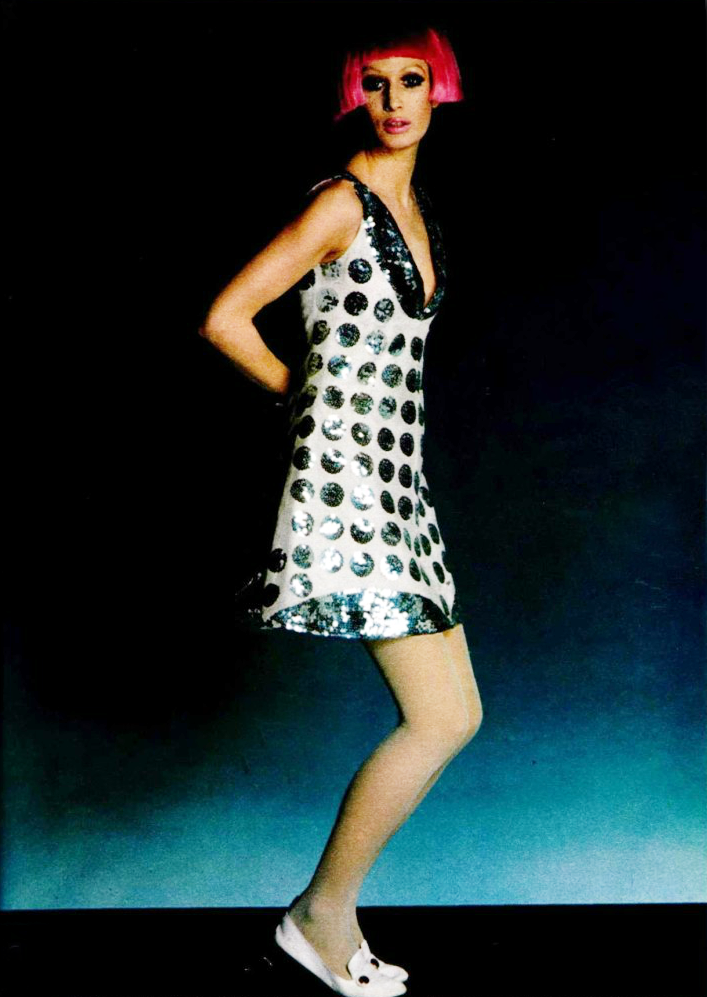 Polka dot fashion history 88