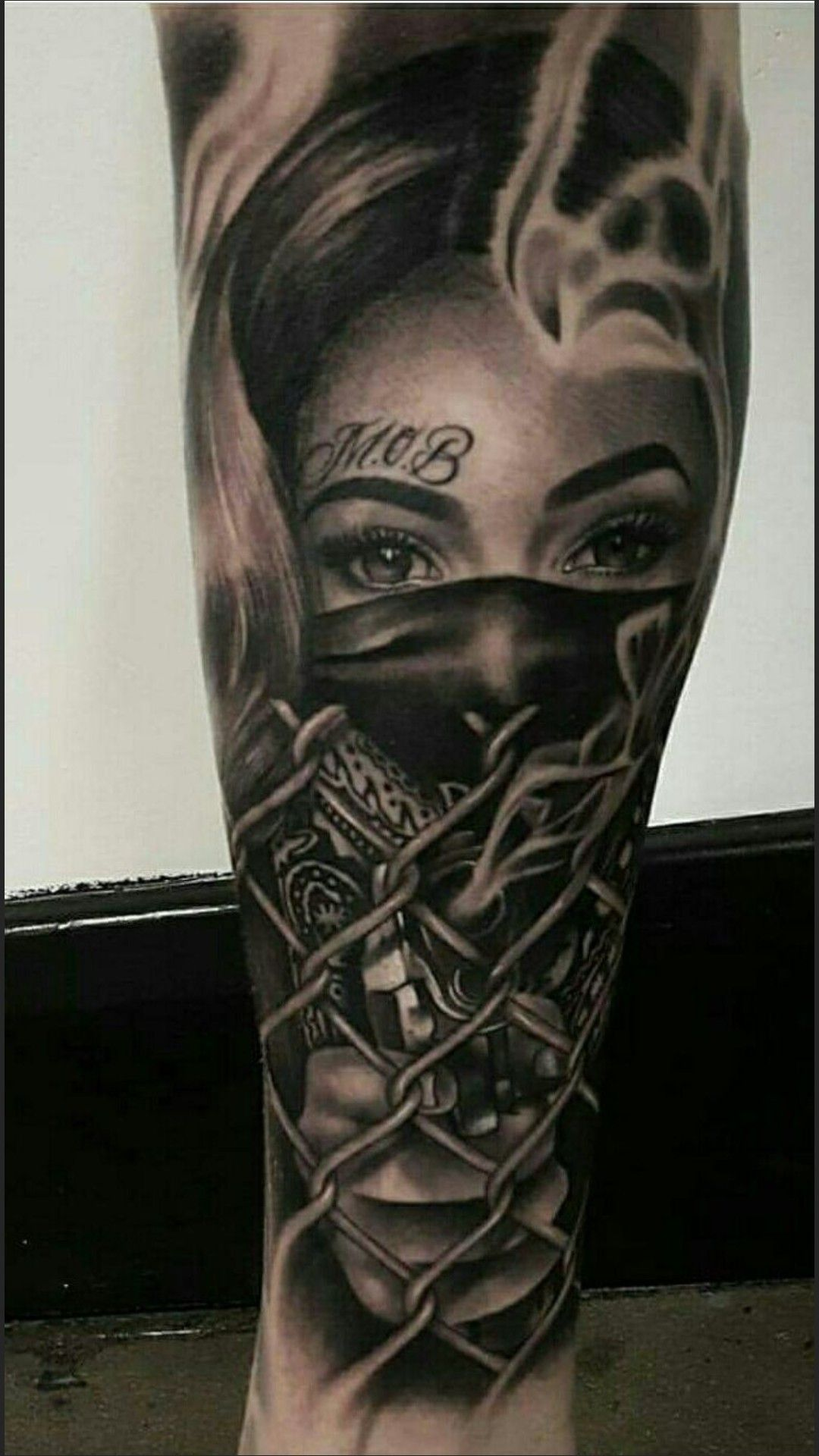 Face Tattoos Forearm Sleeve Pics Tattoo Designs Tatoos Chicano Gangsta Art