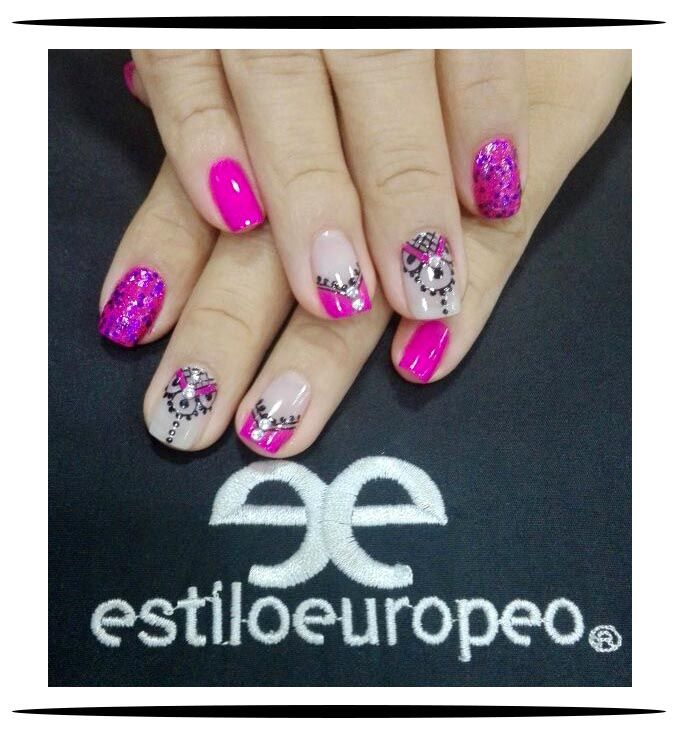Maquillajes de uñas con hermosos diseños #NailArt técnicas que te ...