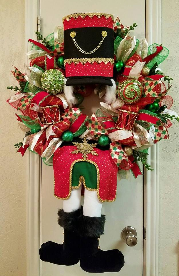 On Sale Toy Soldier Wreath Christmas Toy Soldier Wreath Christmas