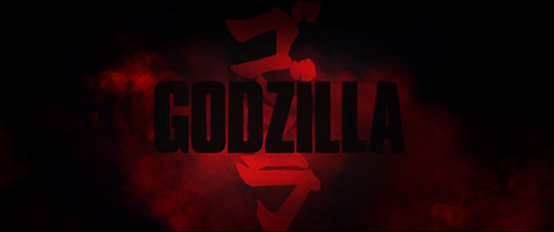 Godzilla 2014 Gareth Edwards Title Card Movie Titles Godzilla 2014
