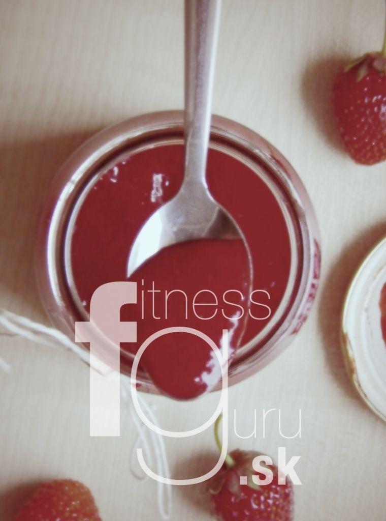 Skutočne jahodový džem bez cukru