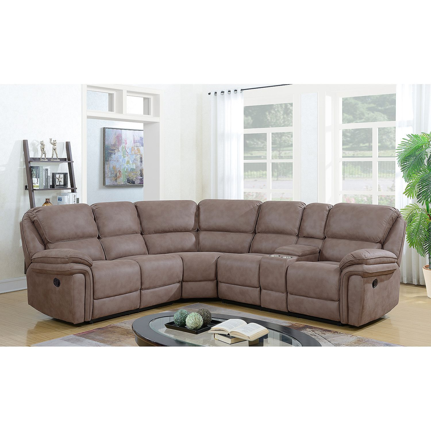 Magnificent Langston Complete 3 Piece Reclining Sectional Sams Club Unemploymentrelief Wooden Chair Designs For Living Room Unemploymentrelieforg