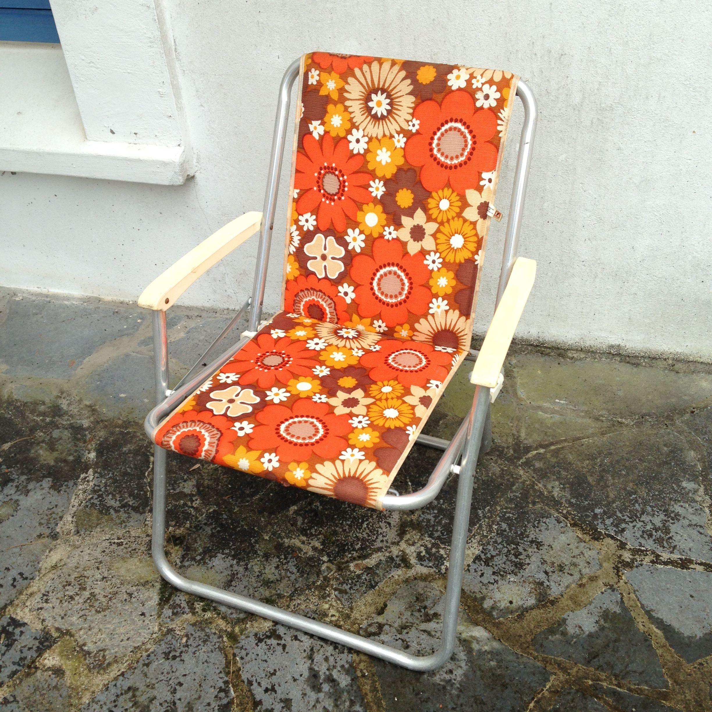 Chaise De Camping Vintage Annees 70 Retrouvez Toutes Mes Ventes Sur