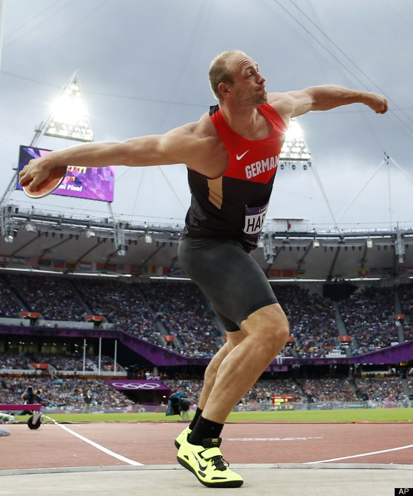 Robert Harting of Germany Discus Technique, Drills and