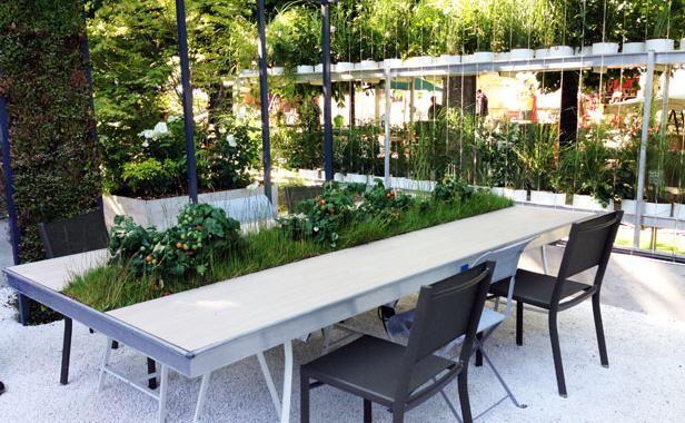 Travailler Dans Des Espaces Verts Rendrait Plus Productif Les Jardins De Gally Espace Vert Salle De Reunion