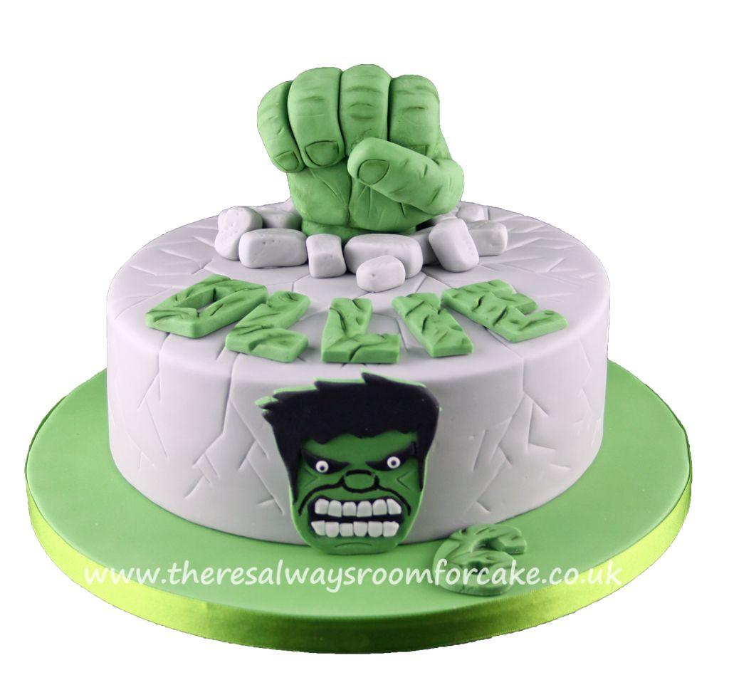 Hulk Birthday Cake Cakes And Fondant Pinterest Hulk Birthday
