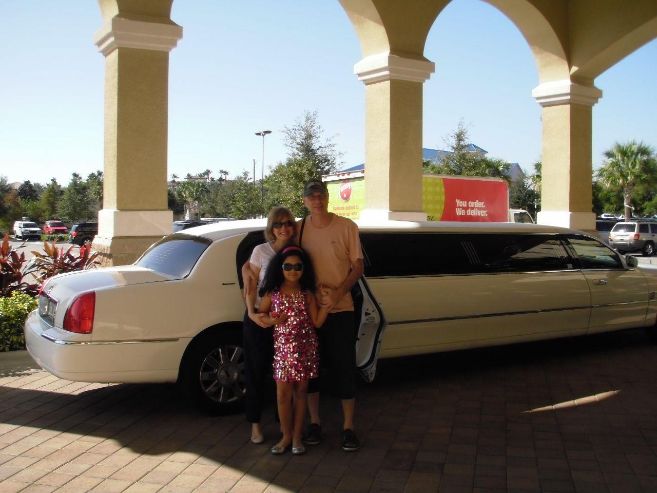 Passeio de limousine em Orlando