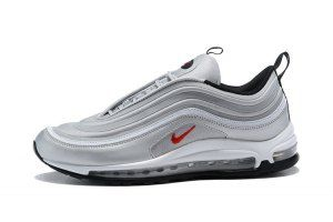 buy popular 91090 f650d Mens Shoes Nike Air Max 97 Ultra 17 Se Silver Bullet Red