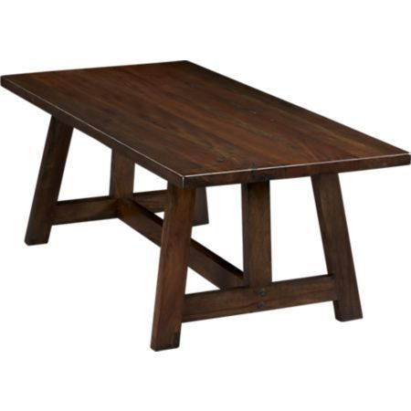 Crate And Barrel Dining Table Dining Furniture Dining