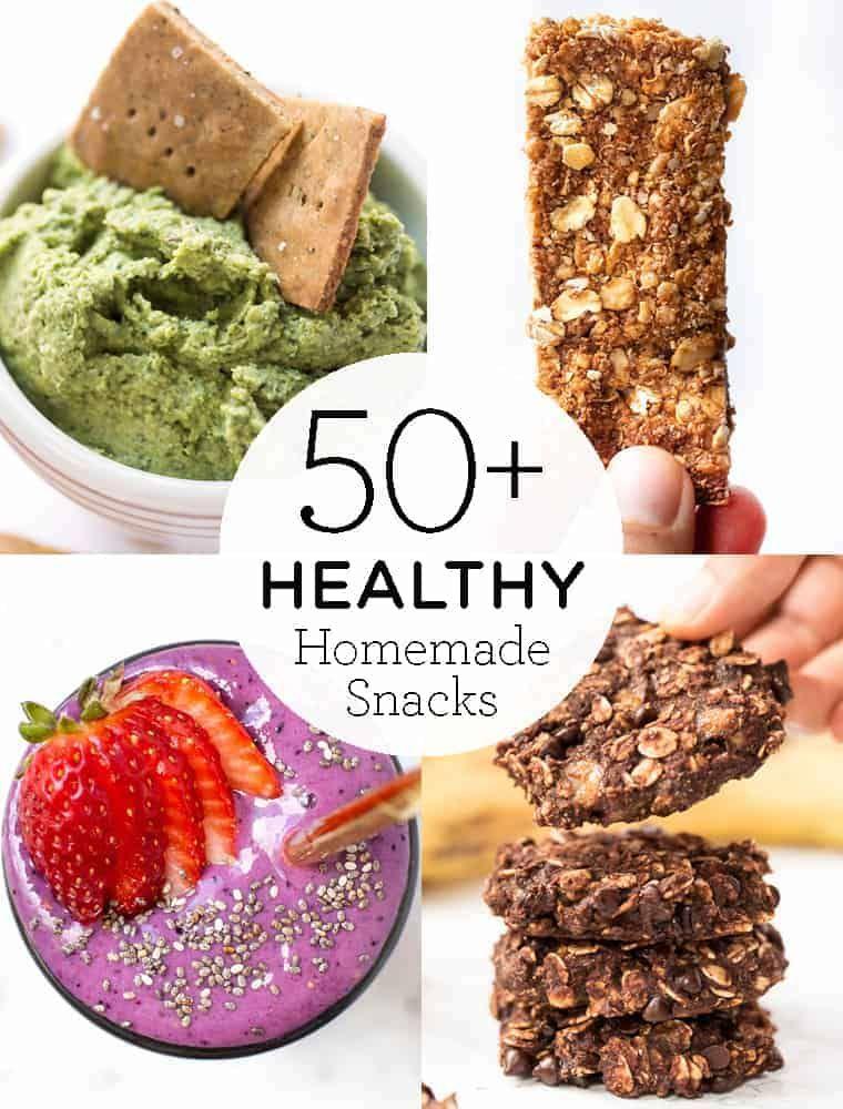 50+ Healthy Homemade Snacks {vegan & GF!} Simply Quinoa