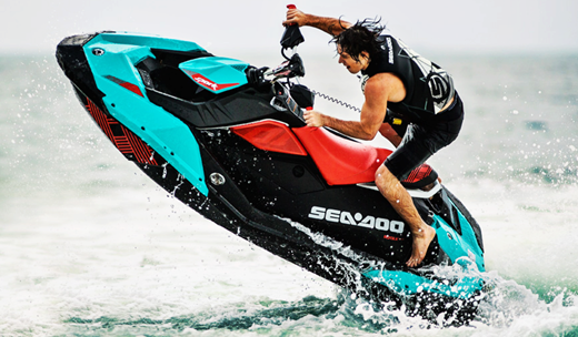 The Sea-Doo Spark introduced a new engine material and a new motor to the  PWC market a few years ago. Now, the brand sparks innovation