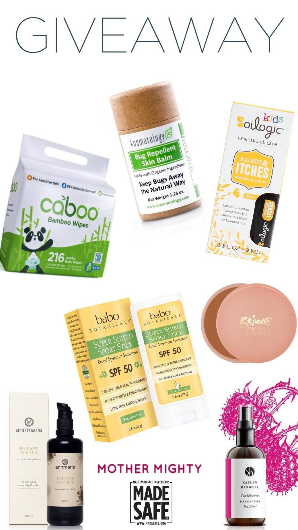 Pin By Linda Viana On Contests Giveaway The Balm Babo Botanicals