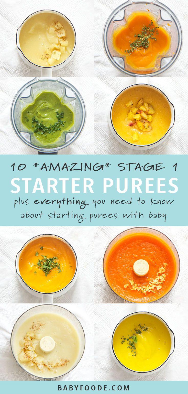 10 Super Starter Baby Food Recipes (plus FREE ebook!)