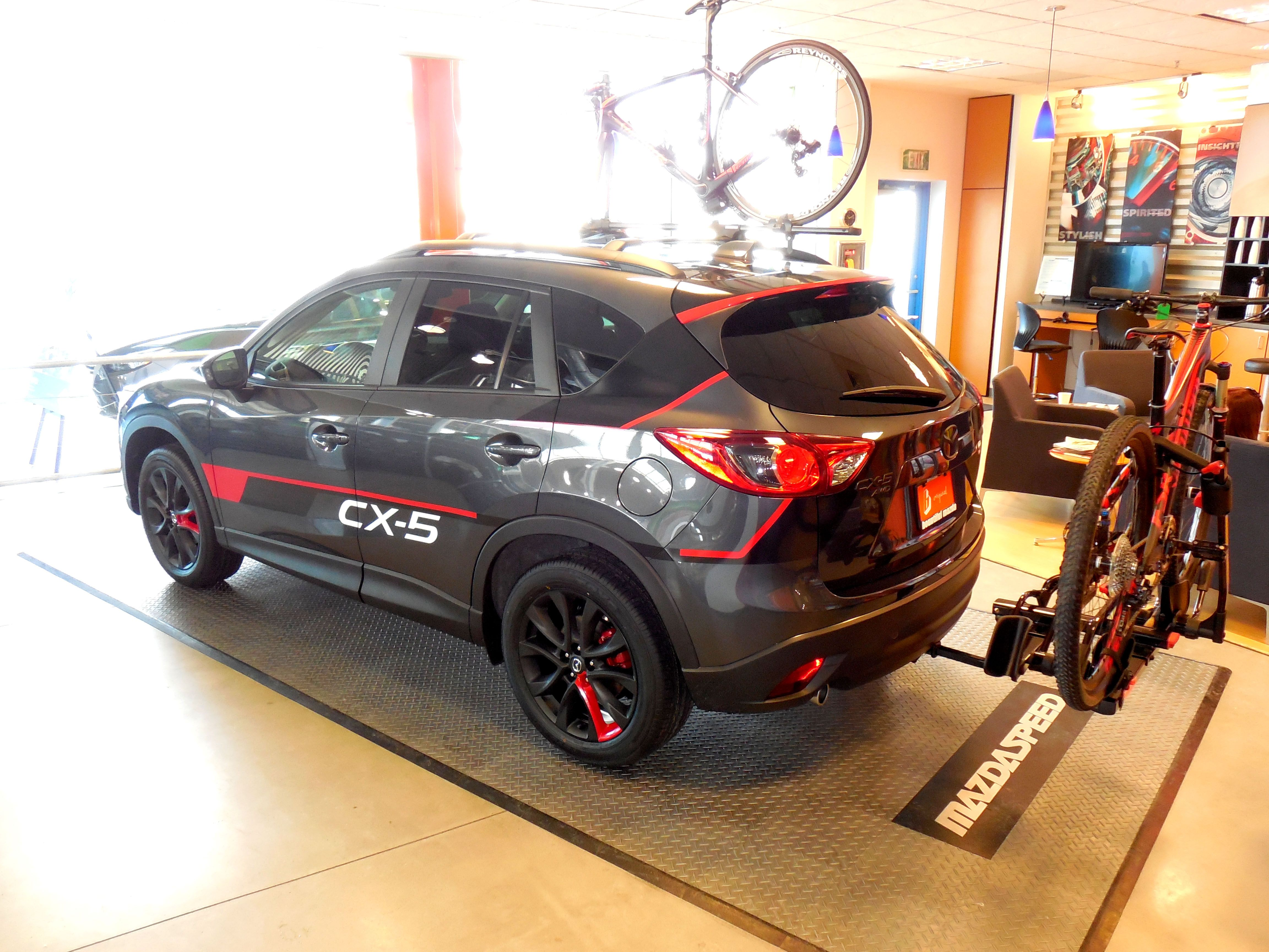 2014 mazda cx 5 tricked out by bountiful mazda