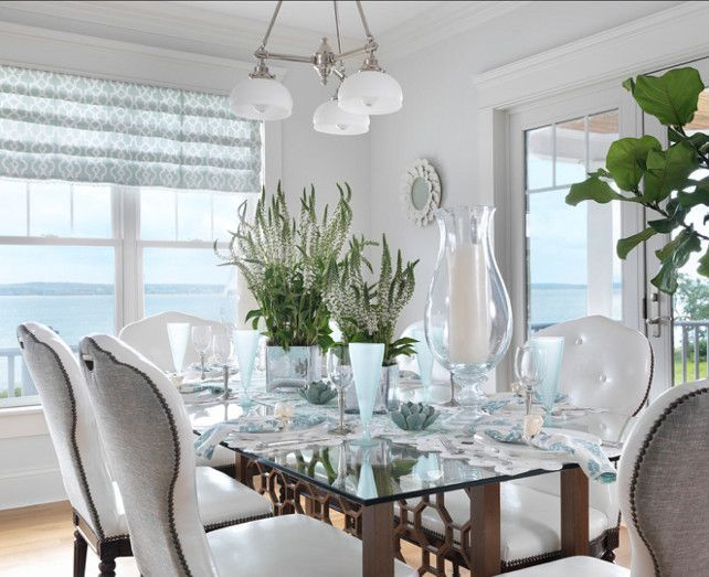 Classic Coastal Beach House Dining Room  Coastal Home Living And Fascinating Coastal Dining Room Tables Design Inspiration