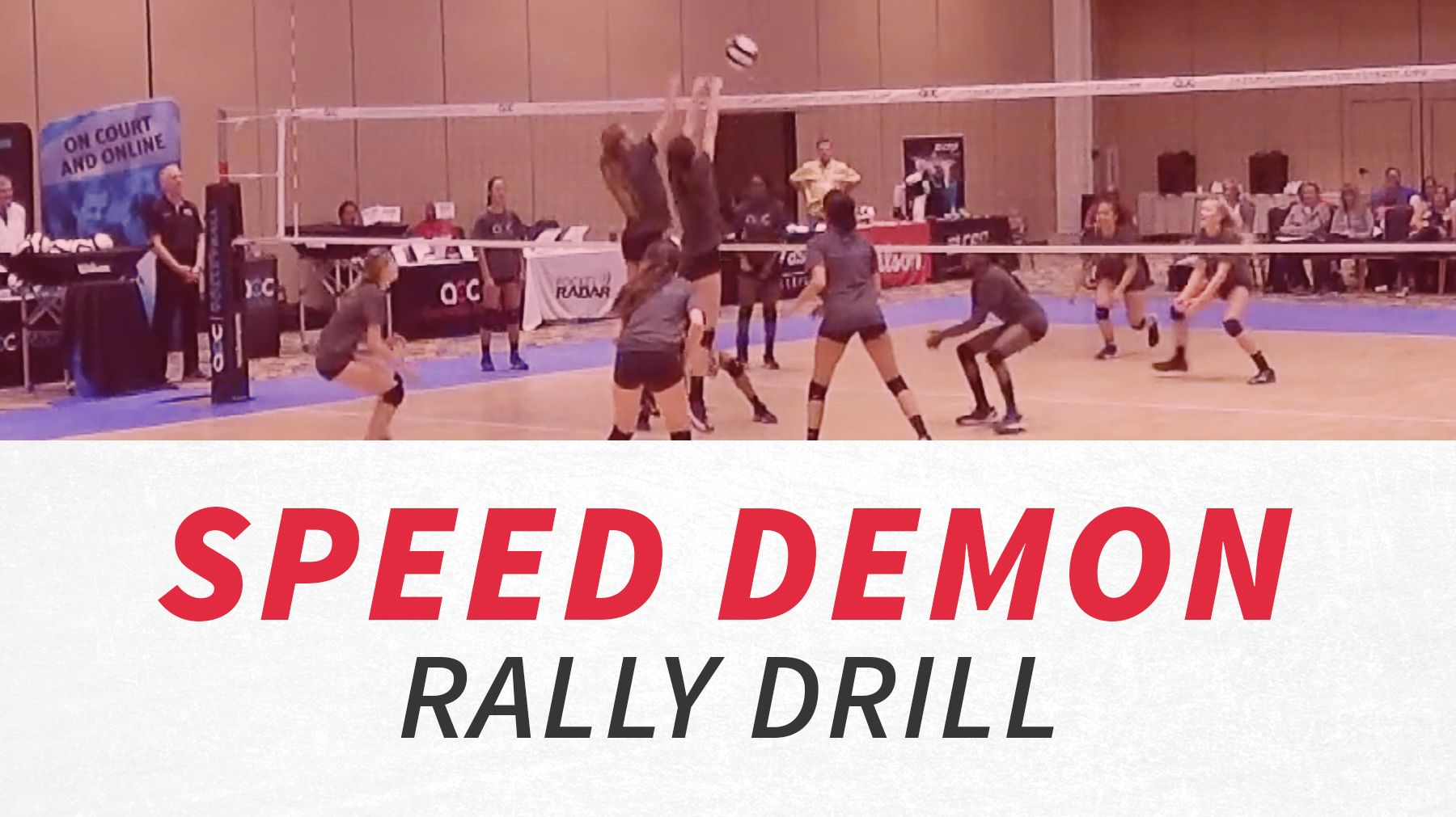 Speed Demon Rally Drill The Art Of Coaching Volleyball Coaching Volleyball How To Play Tennis Drill