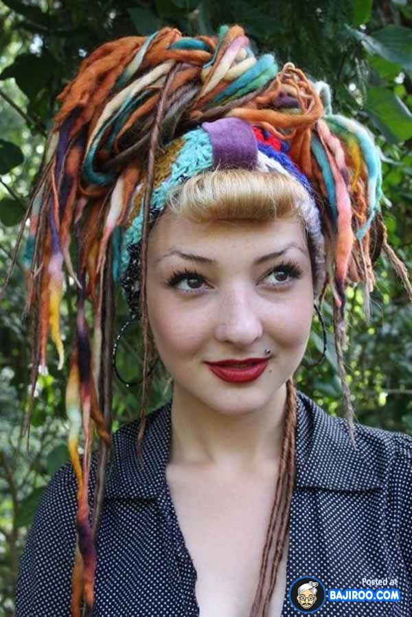 people with dreads funny images pictures fun bajiroo photo dread girls women 5 Collection of Crazy Girls with Dreads (30 Photos)