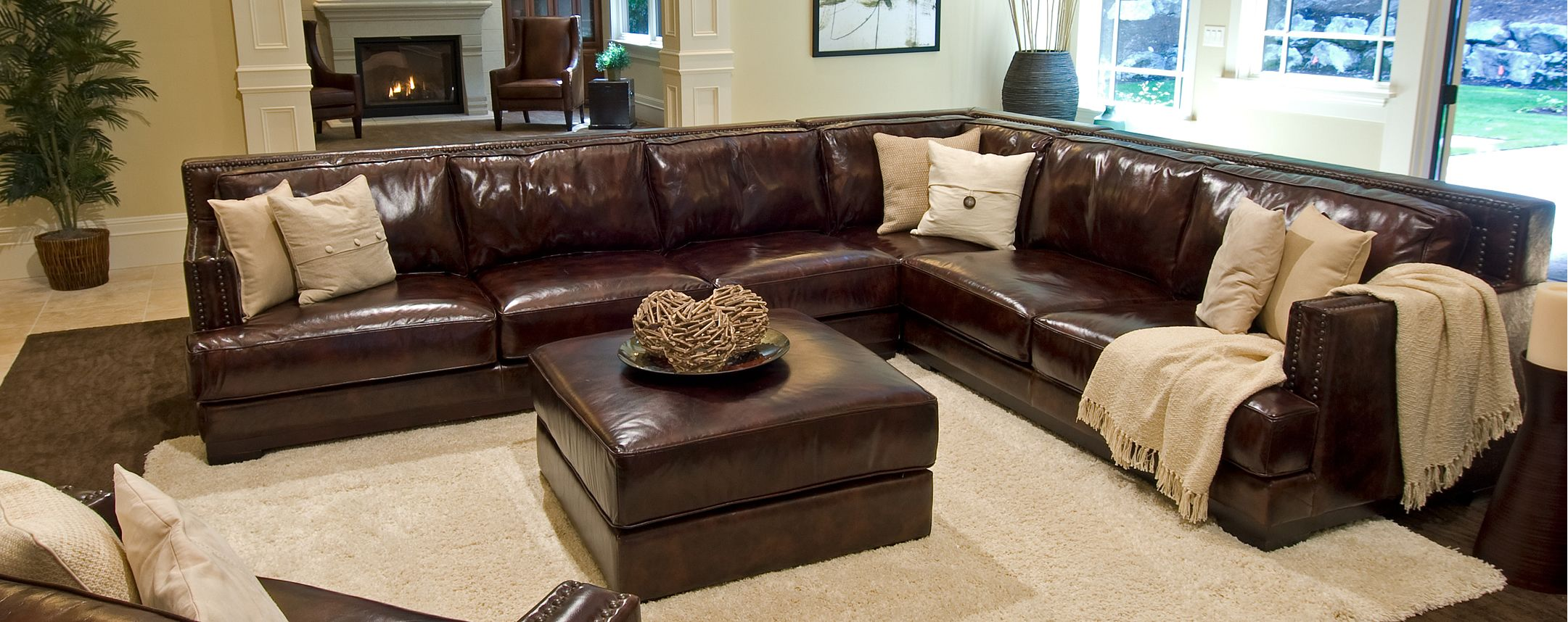 Large Leather Sectional Sofas Best Collections Of Sofas And