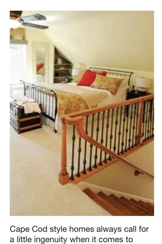 Cape Cod Attic Bedroom Ideas Part - 34: Upstairs Loft Area Idea For Our Little Cape Cod :)