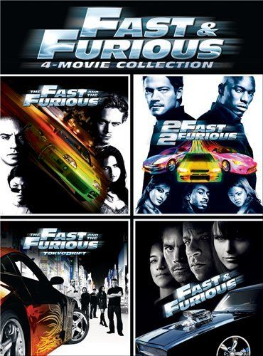 Fast Furious 4 Movie Collection Holiday Adds