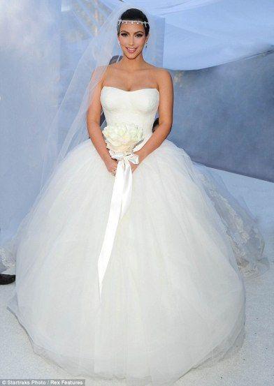 La robe de mariée Kim Kardashian