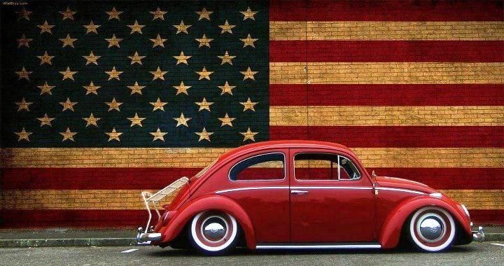 VW beetle USA Flag America | Das Artsy VW | Pinterest | Vw, Vw beetles and Beetles