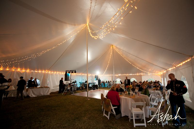 Standard perimeter plus twinkle lights (yes they twinkle!) strung from corners to peaks in a tent & Lights around the perimeter. | Tent lighting | Pinterest | Tents ...