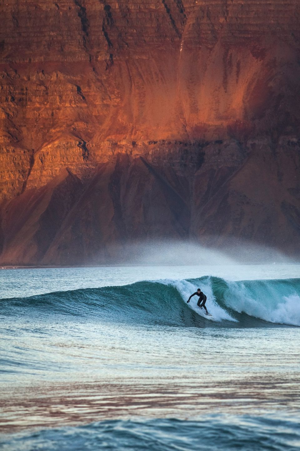 More surfing destinations: Although the water's chilly year-round, surfers still gravitate to the Reykjanes Peninsula near Iceland's capital of Reykjavik.