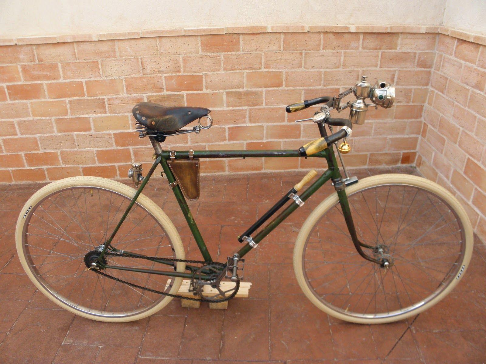 Bici lenta. | BLC 1900. Construcción de una bicicleta al estilo de principios del siglo XX.