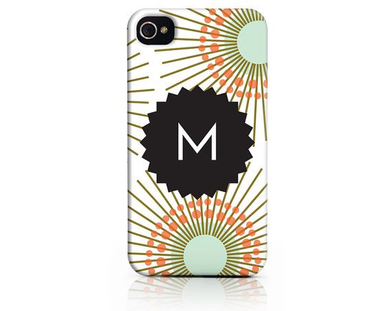 Personalized Mod Floral Monogram Phone Case for by PaperSnaps,