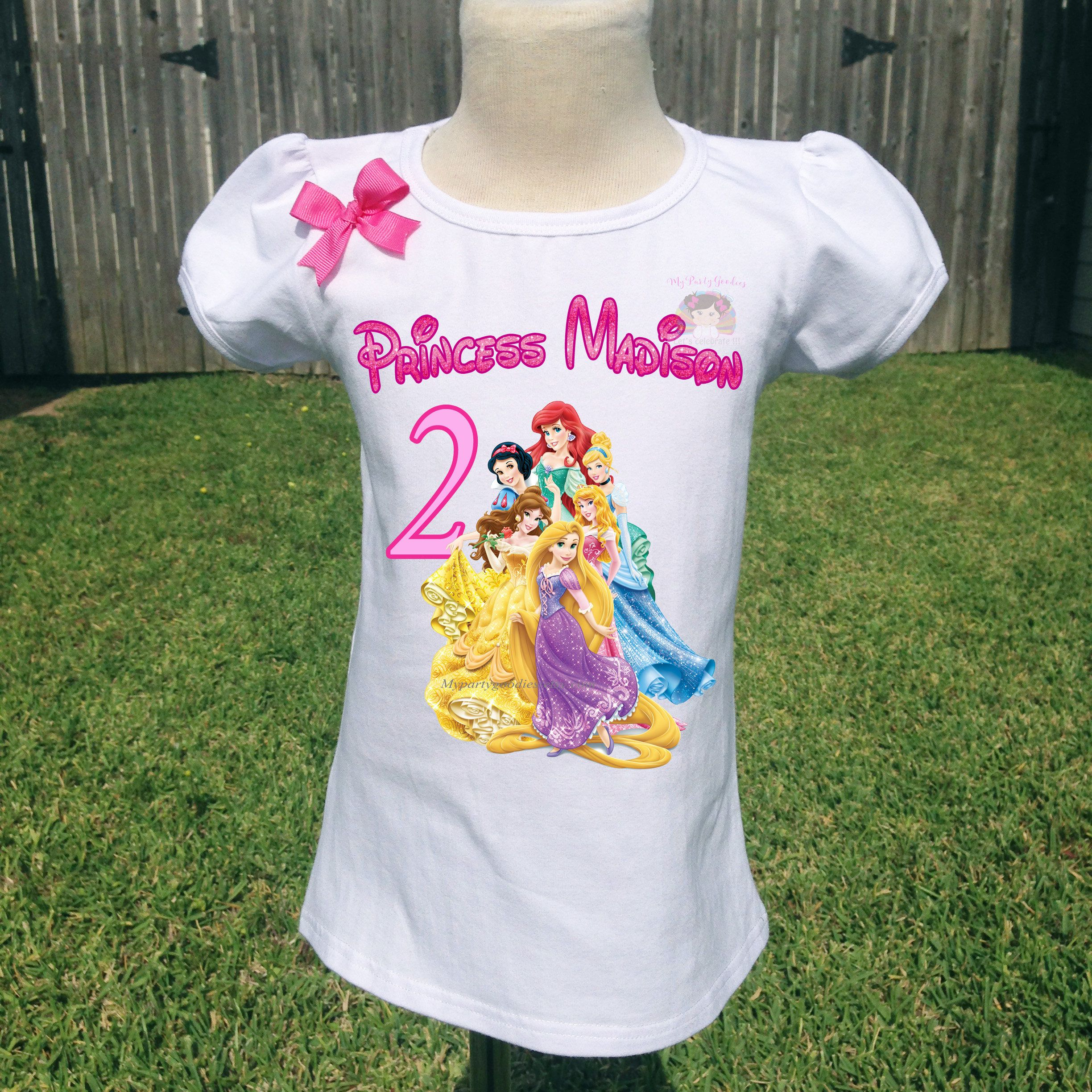 3f8494077 Disney Princess Personalized T Shirts – EDGE Engineering and ...