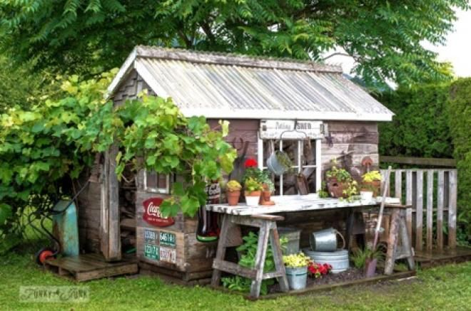 Photo of 17 Unique Backyard Potting Sheds to Inspire Your 2020 Garden Life