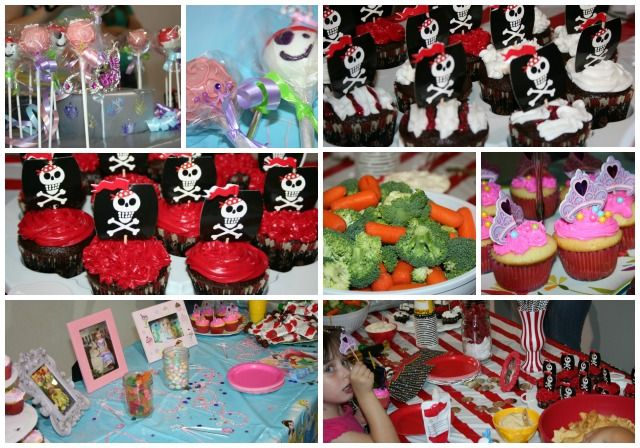 Pirate Themed Birthday Party Food