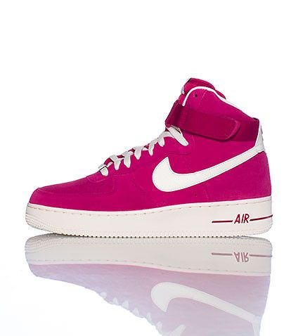 pink air force ones high