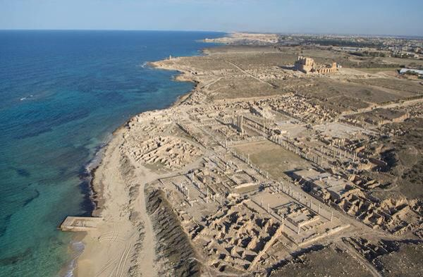 JOJO POST STAR GATES: WHAT HAPPENED TO THE PLANET EARTH: Overview of ancient Sabratha.