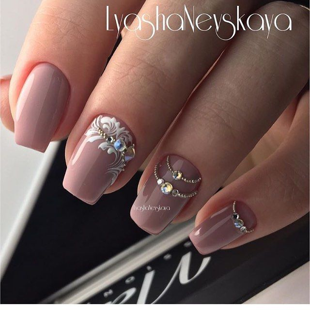 At Lyasha Nevskaya Ideas Unas Pinterest Disenos De Unas - Manicuras-elegantes