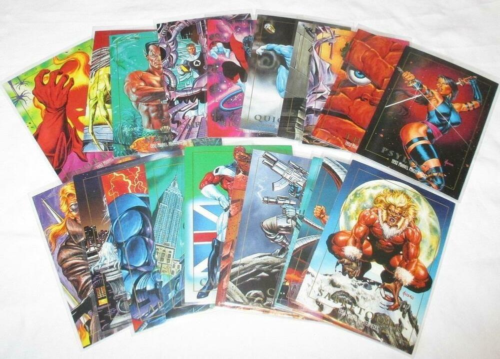 marvel trading cards value