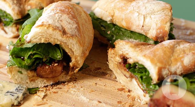 Sanduíche de Figo com Gorgonzola do Gastronomismo