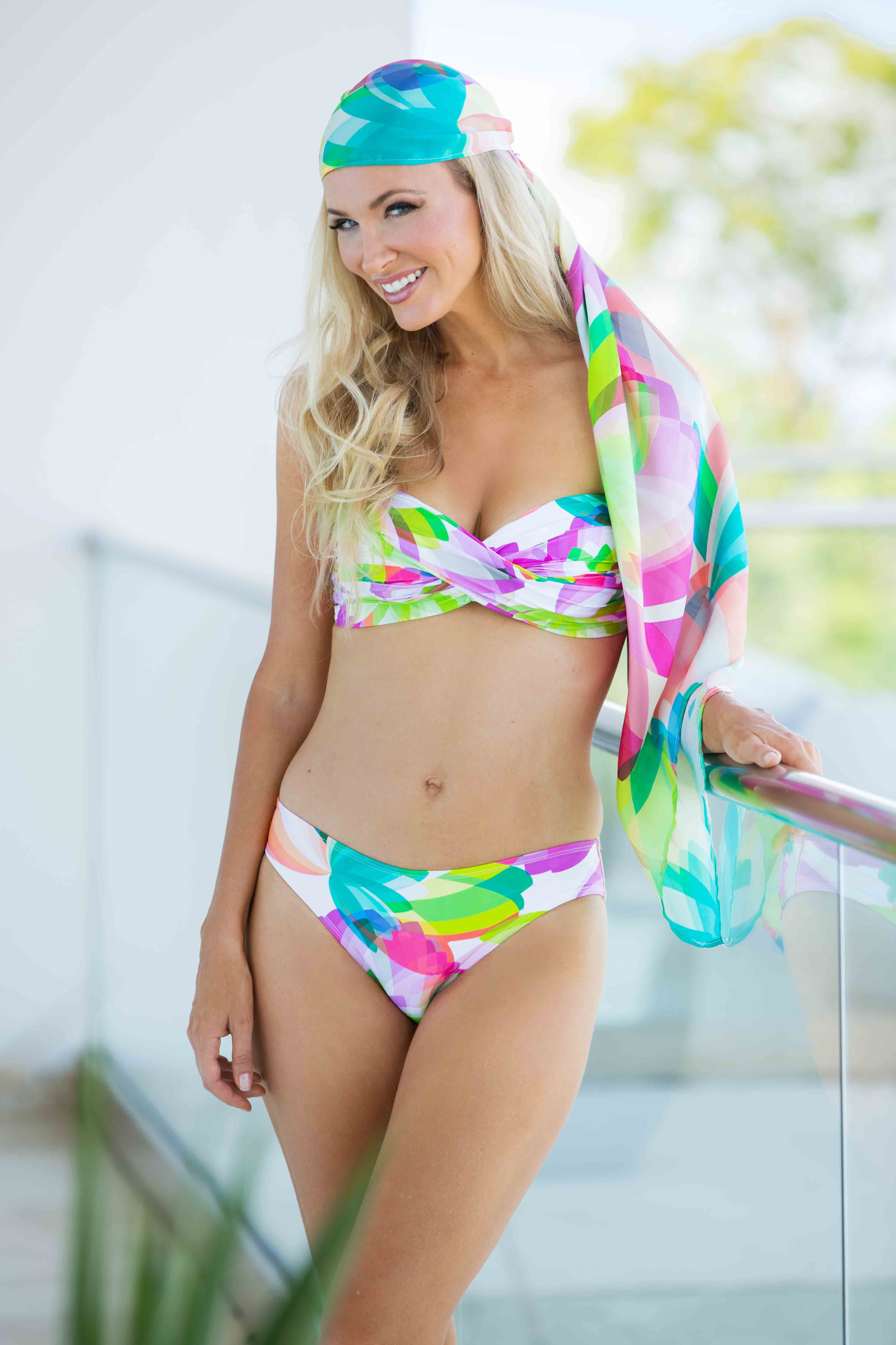 418ddc8f184eb Tara Grinna Swimwear now has head wraps to match our beautiful swimsuits! Shop  today at taragrinna.com.