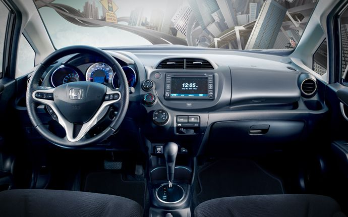 Interior Photo Gallery Official Site Honda Fit Honda Automotivo