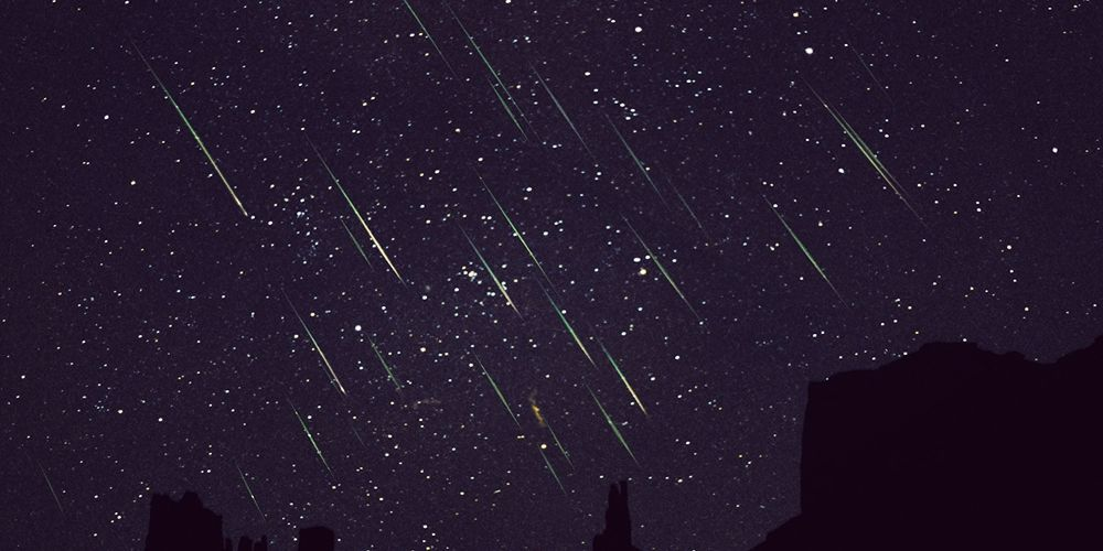 There's going to be a meteor shower tonight and sky watchers