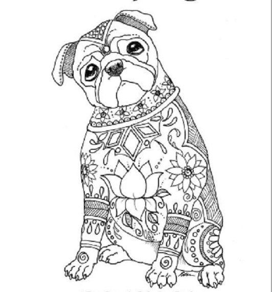 Pin By Wanda Twellman On Just Dogs Dog Coloring Book Coloring