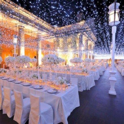 Spektakuläre Ideen für Hochzeitsdekorationen im Winterwunderland (18) #Hochzeitsdekoration   – wedding decorations ideas