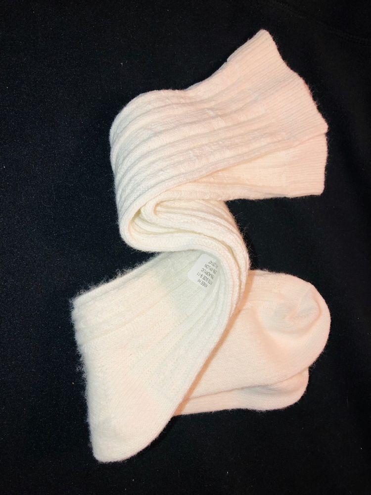 1f8dac748 Vtg New Knee High Wispy Orlon Blend Cable Knit School Girl Socks 9-11 Cream   fashion  clothing  shoes  accessories  vintage  womensvintageclothing  (ebay ...